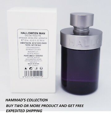 Halloween Man J Del Pozo (Halloween Man by Jesus J Del Pozo 4.2 oz EDT for Men WITH CAP(NEW IN TESTER)