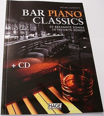 "BAR  PIANO  EH 3749  CLASSICS  "" 20 BEKANNTE SONGS ""  + CD"