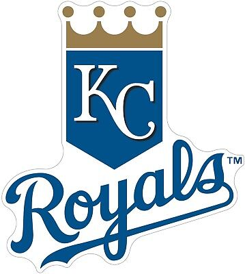 Kansas City Royals MLB Color Die Cut Vinyl Decal Sticker - You Choose - Kansas City Royals Stickers