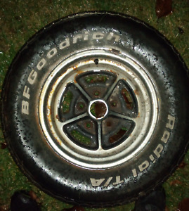 Set of 4 Older Buick Rims and Set of 2 Older Mustang Rims