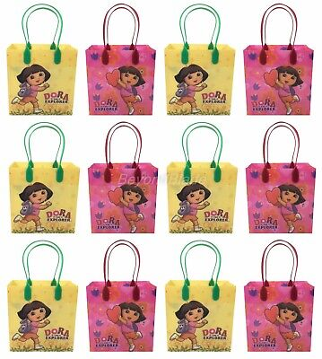 Dora the Explorer Goody Bag Party Goodie Gift Birthday Candy Bags 12pc