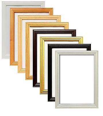 Wooden Poster Picture Print Film Movies Photo Large Frames Various Size - Wooden Poster Frames