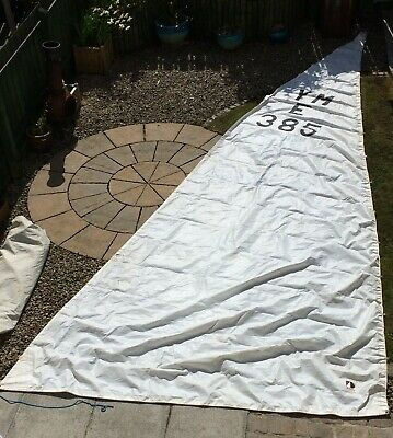 Main sail, for 24' Bermudan rigged yacht. From Eventide 24'