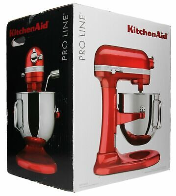 *New* KitchenAid 7-Quart KSM7586PCA Pro Line Bowl-Lift Stand Mixer - Candy Apple