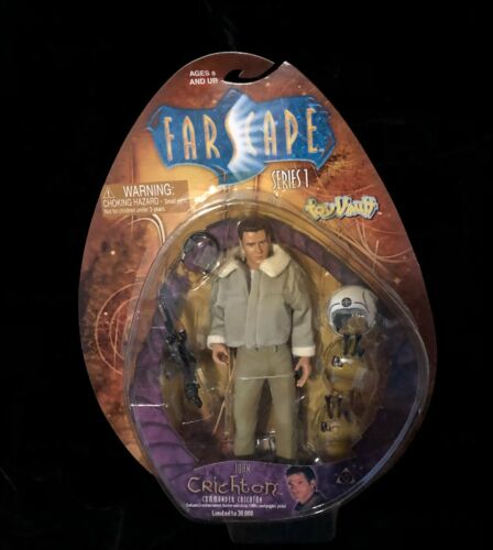 Farscape John Crichton Action Figure Series 1 Toy Vault NIB DRDS!!!!!