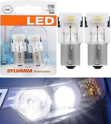 Sylvania Premium LED Light 1156 White 6000K Two Bulbs DRL Daytime Running Lamp