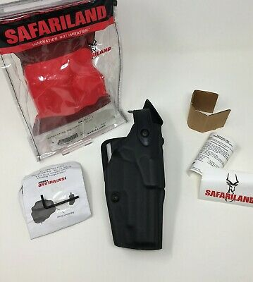 Safariland 6360 Alssls Lev-3 Stx Tactical Black Rh Duty Holster Sig P220 P226