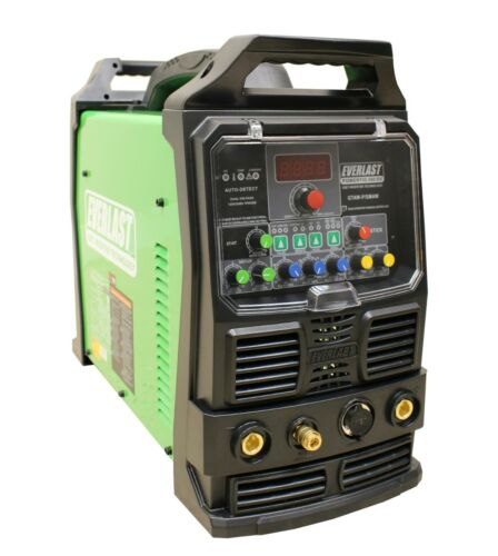 2021 PowerTIG 200DV GTAW-P 110/220v 200AMP ACDC TIG STICK PULSE WELDER EVERLAST