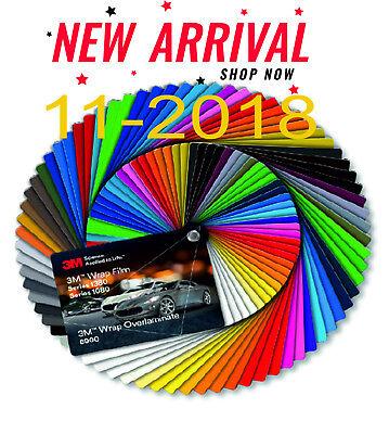 Farbfächer 3M - Wrap Film 1380/1080 & Wrap Overlaminate 8900 - 11/2018