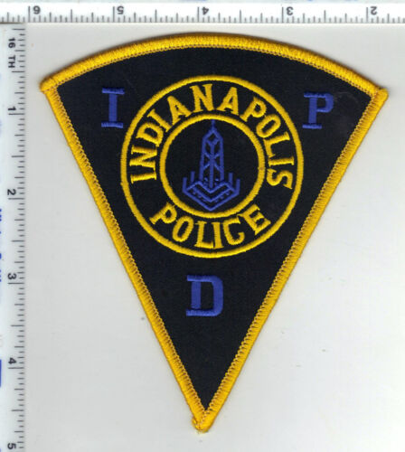 Indianapolis Police (Indiana)  Shoulder Patch - new from the 1980s