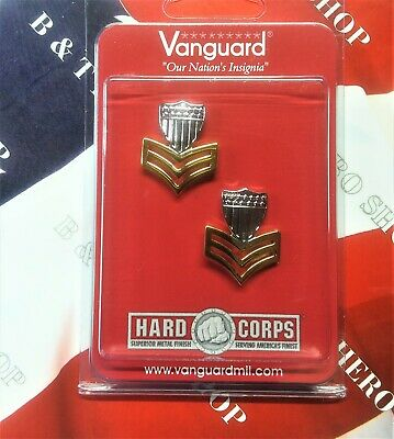 Coast Guard Metal Collar Device: E6 Petty Officer Metal Collar Device