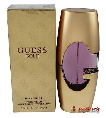 Guess Gold by Guess 2.5 oz EDP Spray for Women New In (Gold Guess)