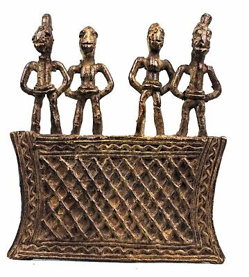 Art African Africa - Remarkable Pendant Koulango Kulango Bronze 9,5 CMS