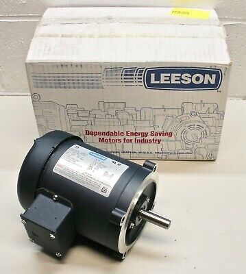 Leeson 102689.00 Electric Motor 3 Phase S56c Frame 50hz 13 Hp 1500 Rpm