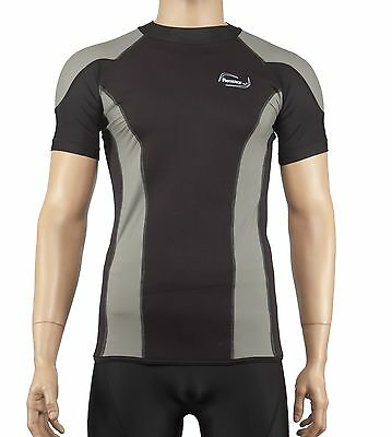 Uv Rash Shirt (Reactor Neopren Lycra Shirt Rash Guard Shirt mit UV Schutz)