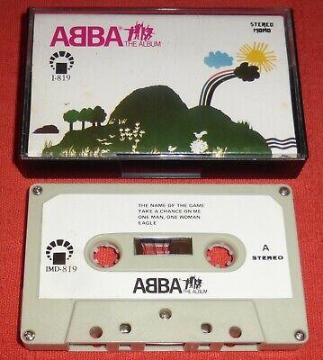 ABBA - SAUDI ARABIA CASSETTE TAPE - THE ALBUM