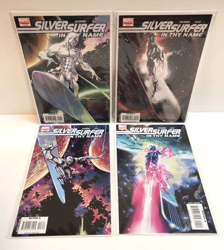 Silver Surfer: In Thy Name 1 2 3 4 Complete Set Run Lot 1-4 VF