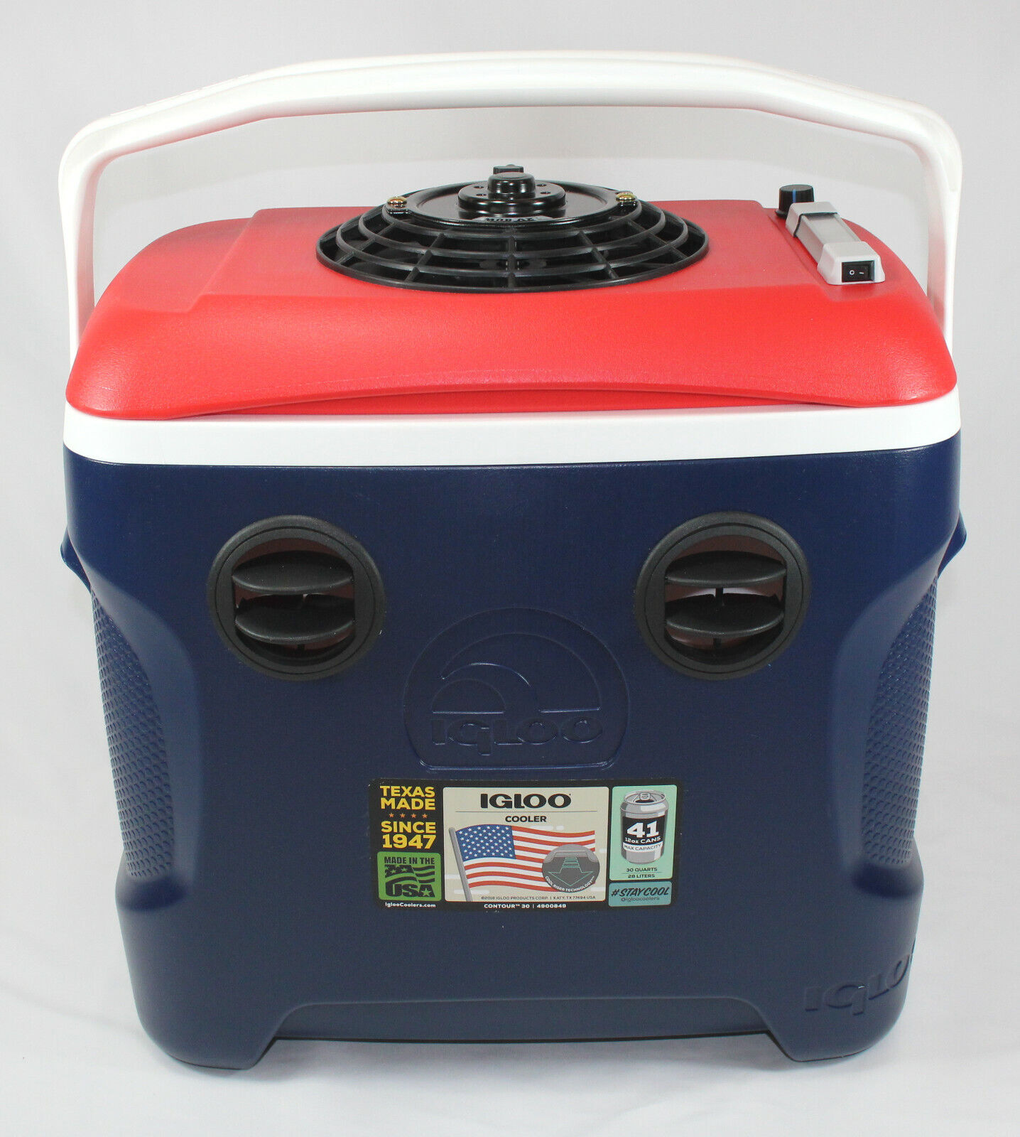 12v portable air conditioner cooler 30 quart