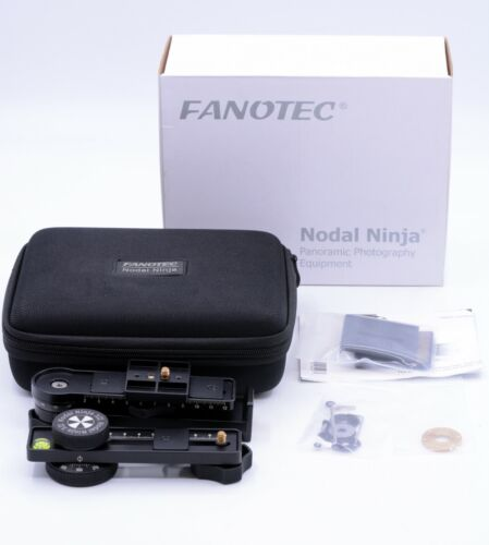 FANOTEC NODAL NINJA 3 MARK II PANORAMIC ADAPTER WITH ROTATOR