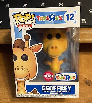 Funko Pop Ad Icons Toys R Us Geoffrey Flocked Exclusive