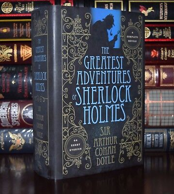 Greatest  Adventures of Sherlock Holmes by Doyle New Unabridged Hardcover Gift