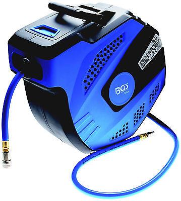 BGS 3253 Automatik Druckluftschlauch 15 mtr. Schlauchtrommel Drucklufttrommel