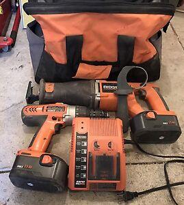 18V Ridgid combo kit