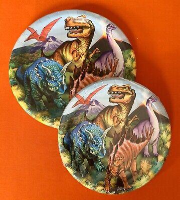 "Dinosaur Themed Birthday Party (DINOSAUR Themed Birthday Party Tableware Plates, 18-9"" Plates & 20-7"")"