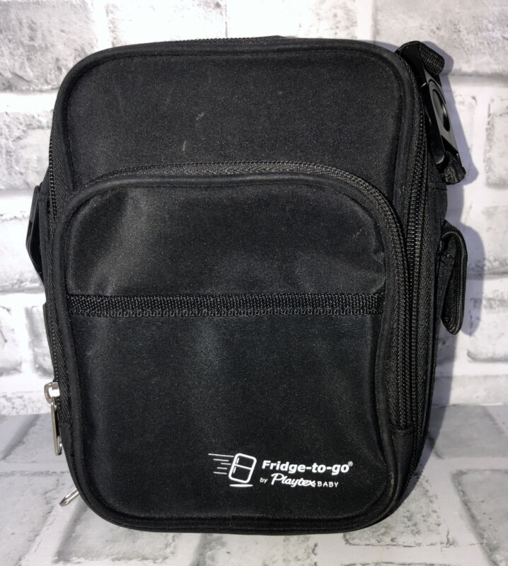 Fridge To Go By Playtex Baby Black Bottle Bag Ice Insulated