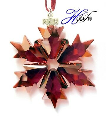 2018 HOLIDAY RED STAR ANNUAL EDITION ORNAMENT SWAROVSKI CRYSTAL - Red Star Ornament