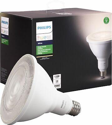 Philips - Outdoor Hue White PAR-38 Smart LED Bulb - White NEW