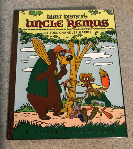 """PIN UNCLE REMUS SONG OF THE SOUTH RABBIT 3"""" JUMBO FANTASY SPLASH MOUNTAIN br"""