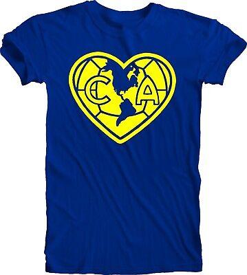Club America Mexico Aguilas Camiseta T Shirt Odiame Mas Soccer football team -
