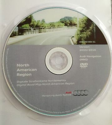 Sedan Navigation (2005-2008 AUDI A6 SEDAN & WAGON NORTH AMERICA 2016 NAVIGATION DVD MAP UPDATE GPS )