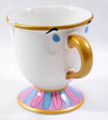 Disney Parks Authentic Beauty And The Beast Ceramic Chip Mug Cup