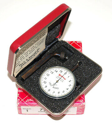 Starrett 711-d-10 Last Word .0001 Dial Test Indicator With Case And Box