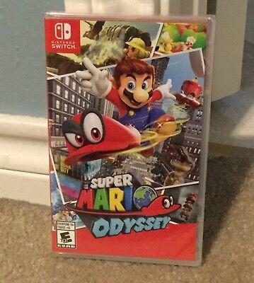 Super Mario Odyssey  Nintendo Switch  2017