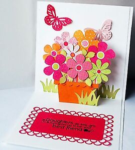 Sizzix Bigz XL Pop Up Card #1 die #A10769 Retail $39.99 SO MUCH FUN!!