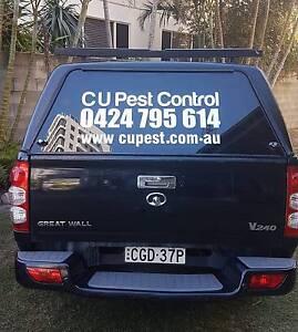 C U Pest Control from  $70  One year warranty Brisbane Region Preview