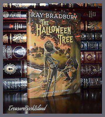 Halloween Tree by Ray Bradbury New Illustrated by Grimly Deluxe Hardcover Gift - Ray Bradbury Halloween Tree