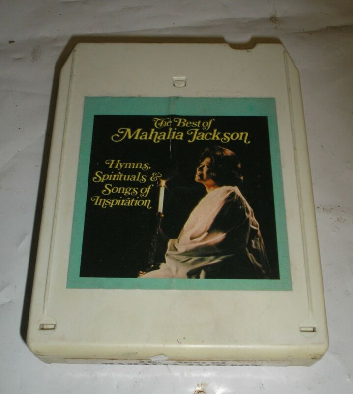 The Best Of Mahalia Jackson - Hymns Spirituals Songs Inspiration - 8 Track Tape