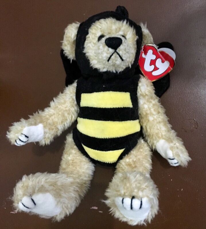 TY Beanie Baby Beezee- With Swing Tag Errors