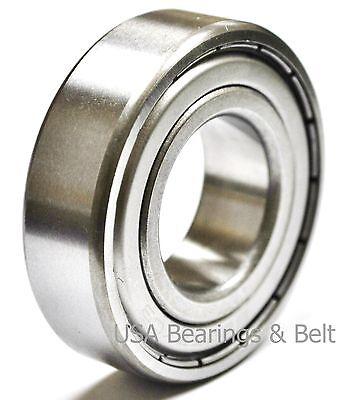 2 Pcs 6203 Zz 6203 Z Shielded Ball Bearing 17x 40 X 12 Ball Bearing-usbb