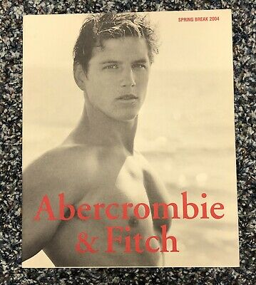 ABERCROMBIE & FITCH CATALOG Spring Break 2004 Bruce Weber Pics (not A quarterly)