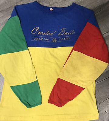 80s Tops, Shirts, T-shirts, Blouse   90s T-shirts 1980s Ski Colorado Classic XL Vintage Crested Butte Tour De Colorado LS T-Shirt $25.47 AT vintagedancer.com