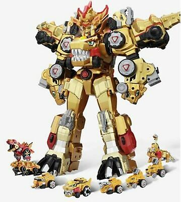 Dino Core Ultimate D-BUSTER Tyranno 8 Copolymers Transformer Robot Dinosaur