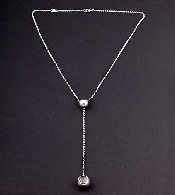 GEORG JENSEN Sterling Necklace # 441A. Silver. CAVE. Jacqueline Rabun. RARE! NEW