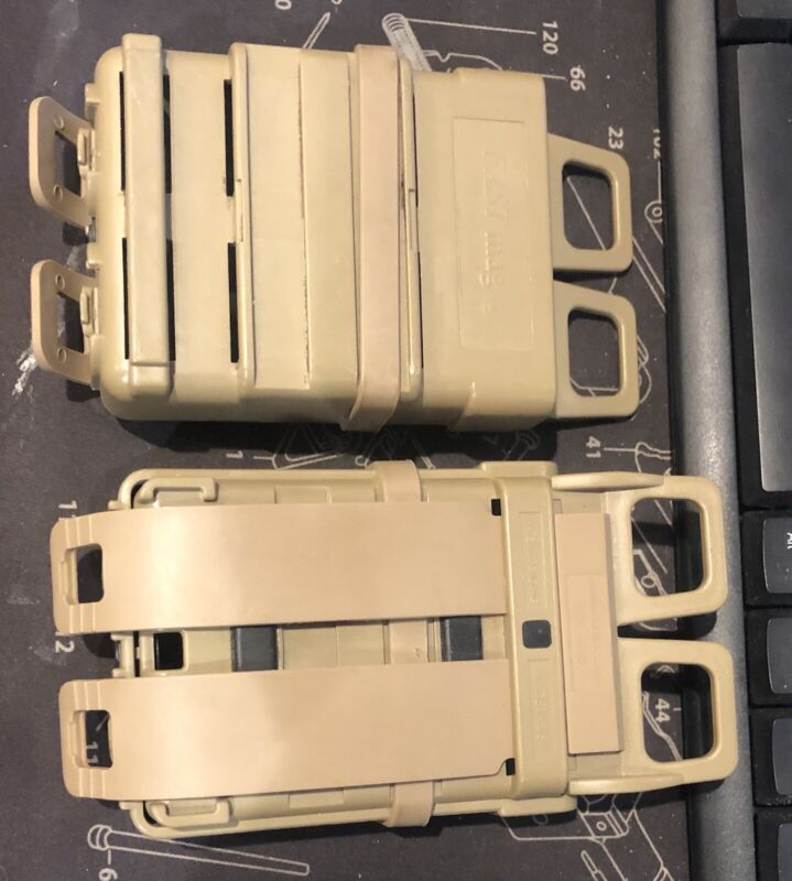 ITW Fastmag Tan Molle Set Up