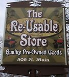 THE RE-USABLE STORE
