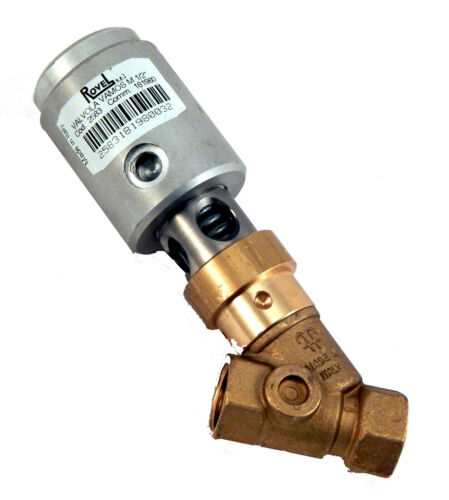 """Valve, Steam, 1/2"""", Normally Closed, NC, Max 9 bar, Rovel, Dry Cleaning"""